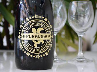 PURAVIDA様 5周年記念ボトル