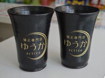 陶器グラス彫刻